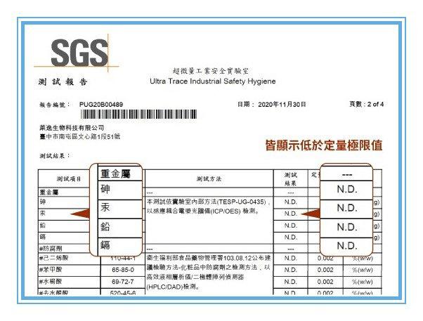 噴噴黑SGS檢驗報告-白髮補染推薦