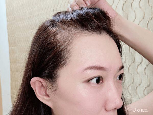 側邊髮根使用噴噴黑-白髮染色推薦